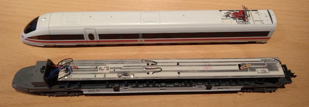 Umbau Lima ICE-T (BR 415) auf Märklin - Stummis Modellbahnforum